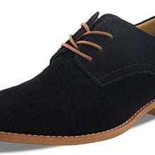 New Handmade Men's Black Cow-Hide Suede Leather Classic Oxford Dress Shoes
