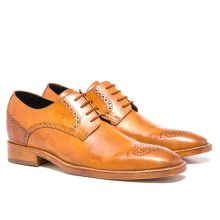 Men's New Handmade Nippon Full Grain Cognac Shoes