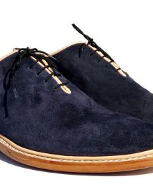 New Men's Formal Shoes, Men's Dark Blue Leather Formal Shoes