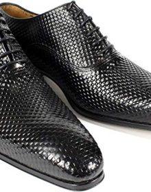 Black Handmade Italian Leather Dress Shoes/Oxford Shoes/Men Shoes