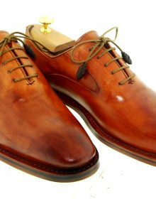 Men NEW HANDMADE LUXURY OXFORDS Goodyear Welted Shoe
