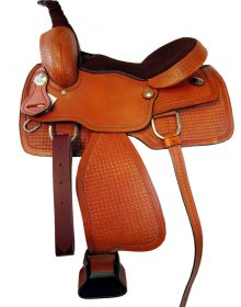WADE STYLE WORK RANCH ROPING HEAVY DUTY LEATHER HORSE SADLE TACK