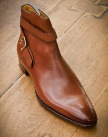 Handmade Men Boots,Leather Boot,men ankle shoes,jodhpurs men shoes