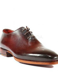New Handmade Men's Dress Hand-Painted Brown Oxfords Shoes