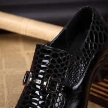 Handmade Men Oxford Dress British Pointed Toe Genuine Leather Business Office Wedding Shoes