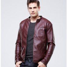 New Men's Genuine Lambskin Leather Jacket Slim fit Biker Motorcycle jacket