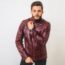 Handmade Biker Leather Jacket, Cafe Racer Jacket, Motorcycle Jacket, Lambskin Leather Jacket, Biker Style Leather Jacket