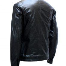 Black Biker Minority Report Leather Jacket