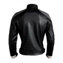 New Men's Leather Jacket Agents Of Shield Season 4 Robbie Reyes Biker Jackets