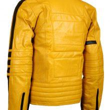 Kill Bill Movie Men Biker Celebrities Leather Jacket