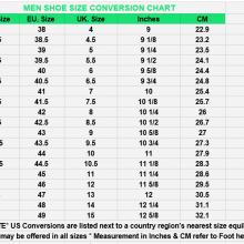 Sheos Size Chart