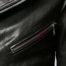 New Handmade Mens Casual Slimfit Black Motorcycle Leather Jacket