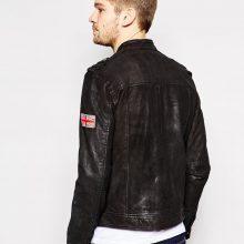 New Handmade Men Leather Jacket Motorcycle Slim Fit Biker jackets