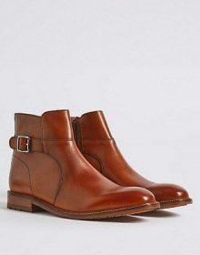 Handmade leather Jodhpur shoes for men genuine leather stylish mens shoes