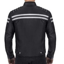 New Handmade Men's Motorcycle Rider Biker Bloodaxe Armor Protection Multi Pocket Comfortable Leather Jacket