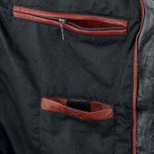 New Handmade Men's Deadshot Black Biker Leather Jacket