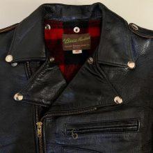 New Handmade Authentic D-Pocket Real Mccoys Biker Leather Jacket