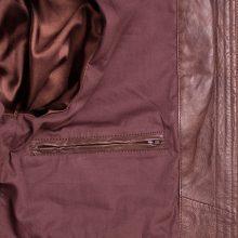 New Handmade Men Cafe Racer Brown Biker Genuine Leather Jackets