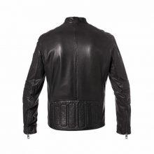 New Handmade Men's Biker Sheepskin Motor cycle Leather Jacket