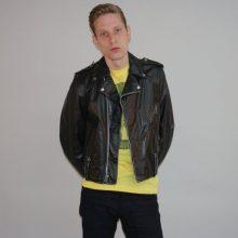 New Handmade Men's RARE Leather Unisex Harley Davidson Biker Jacket