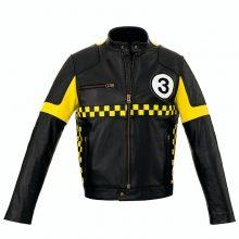 New Handmade Men Biker Vintage Cafe Racer Rocker Cowhide Leather Jacket
