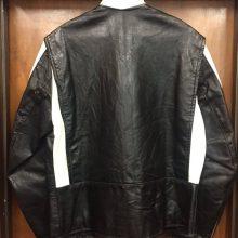 New Handmade Men's Black and White Cafe Racer Motorcycle Biker Vintage Jacket