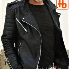New Handmade Men's Style, Rock 'n' Roll, The Wild One Biker Leather Jacket