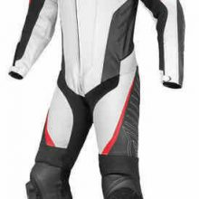 Mens AVRO Motorcycle Leather Suit Motorbike Racing Leather Biker 1PC Suit Armors