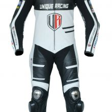 Unique Racing Ducati Motorcycle Motorbike Leather one Piece Suit CE Armors