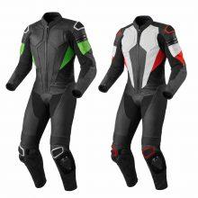 Retro Mens Motorcycle Racing Leather Suit Motorbike Leather Biker Suit Armors
