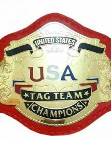 NWA United States Tag Team Heavyweight Wrestling Title Replica Championship Belt