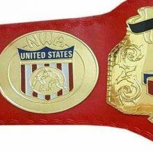NWA United States Tag Team Heavyweight Wrestling Title Replica Championship Belt