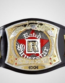 Official Edge Rated-R Spinner WWE Championship Replica Title Belt