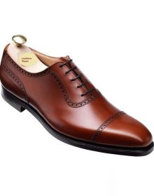 Handmade Men Brown derby shoes, brownBurnished Calf, Men formal dress shoes