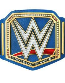 Universal Championship Blue Replica Title Belt