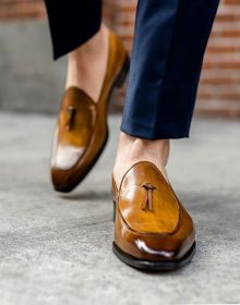 The Van Damme Belgian loafer in tobacco ? Boost your confidence with an outstanding footwear, Summer shoes