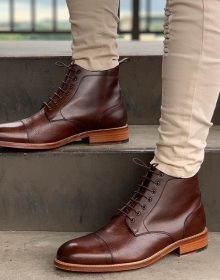 New Handmade Cowhide Leather Fall Essentials boot for men