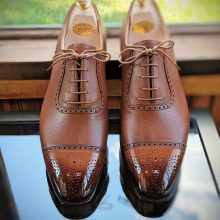 New Hand Stitched Cowhide Leather Goodyear welted Oxford shoes for men