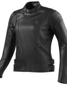 Women's Custom Made Rev'it Bellecour Ladies Black Color 100% Pure Cowhide Leather Biker Jacket