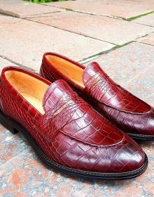 New Handmade Handmade loafers in Calf Leather for Men